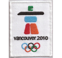 Olympia 2010 Winterspiele Vancouver Olympische Spiele Aufnäher Patch