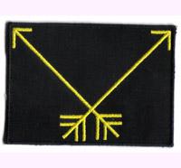 Pfadfinder Tuch Logo 2 Pfeile Halstuch Boyscout Scouting Abzeichen Aufnäher