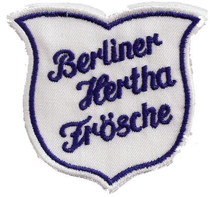Berliner Hertha Frösche FC Berlin BSC 2 Trikot Kultclub Aufnäher Abzeichen