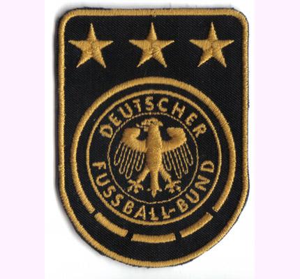 DFB FIFA EURO WM Deutscher Fussball Bund Ticket Ball Aufnäher Abzeichen