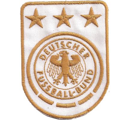 DFB Deutscher Fussball Bund Muster Fussball WM EM Trikot Aufnäher Patch