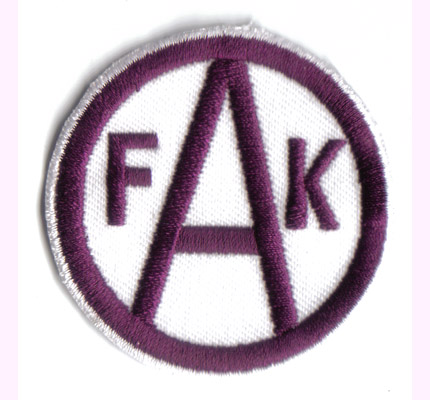 FAK Austria Wien Viola Ultras KAMPFMANNSCHAFT Bundesliga  Aufnäher