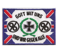 Hannover 96 Iron Cross Fanclub Ultras Trikot Aufnäher Abzeichen Patch