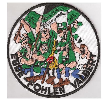 Borussia Mönchengladbach Fanclub Ebbe Fohlen Valbert Aufnäher Patch