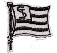 SK Sturm Graz Fahne Puma Trikot Ultras FC Fanclub Aufnäher Abzeichen