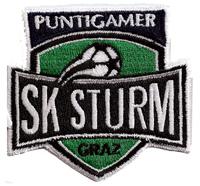 SK Sturm Graz Puma Trikot Ultras Fanclub Fahne Aufnäher Abzeichen