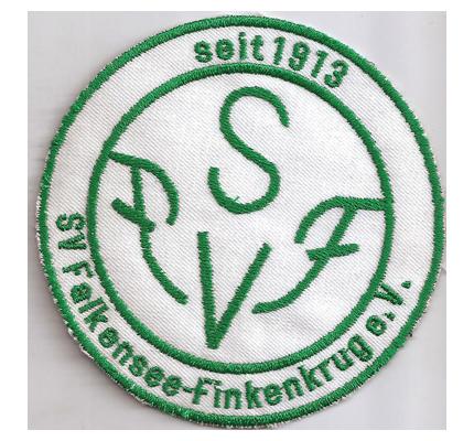 Sv Falkensee Finkenkrug e.V Fanclub seit 1913 Aufnäher Abzeichen Patch