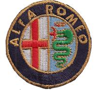 ALFA ROMEO Fiat  Giulietta, Brera 159, 147 Spider, MITO, DNA Aufnäher Abzeichen
