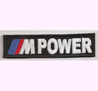 BMW M Power MPower Formel 1 Racing X5 X3 3er 5er Grand Prix  M1 M3 M5 Aufnäher