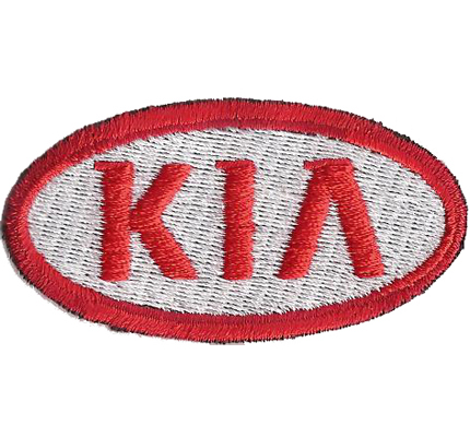 KIA Motors Racing Team 4x4 Club Carneval Rio Aufnäher Patch Aufbügler
