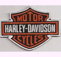 HARLEY DAVIDSON XXL Motorcycle Chopper Custombike Backpatch Aufnäher