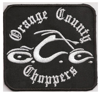 OCC Orange County Choppers MC Custombike Harley Chopper Biker Patch