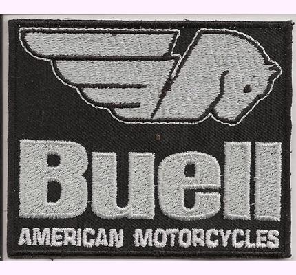 Buell Custom Bike Motorcycle Company Harley Davidson Patch Aufnäher
