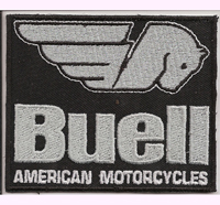 Buell Custom Bike Motorcycle Company Harley Davidson Patch Aufnäher