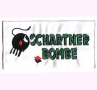 Schartner Bombe Austria  Patch - Racing - Motorsport Aufnäher