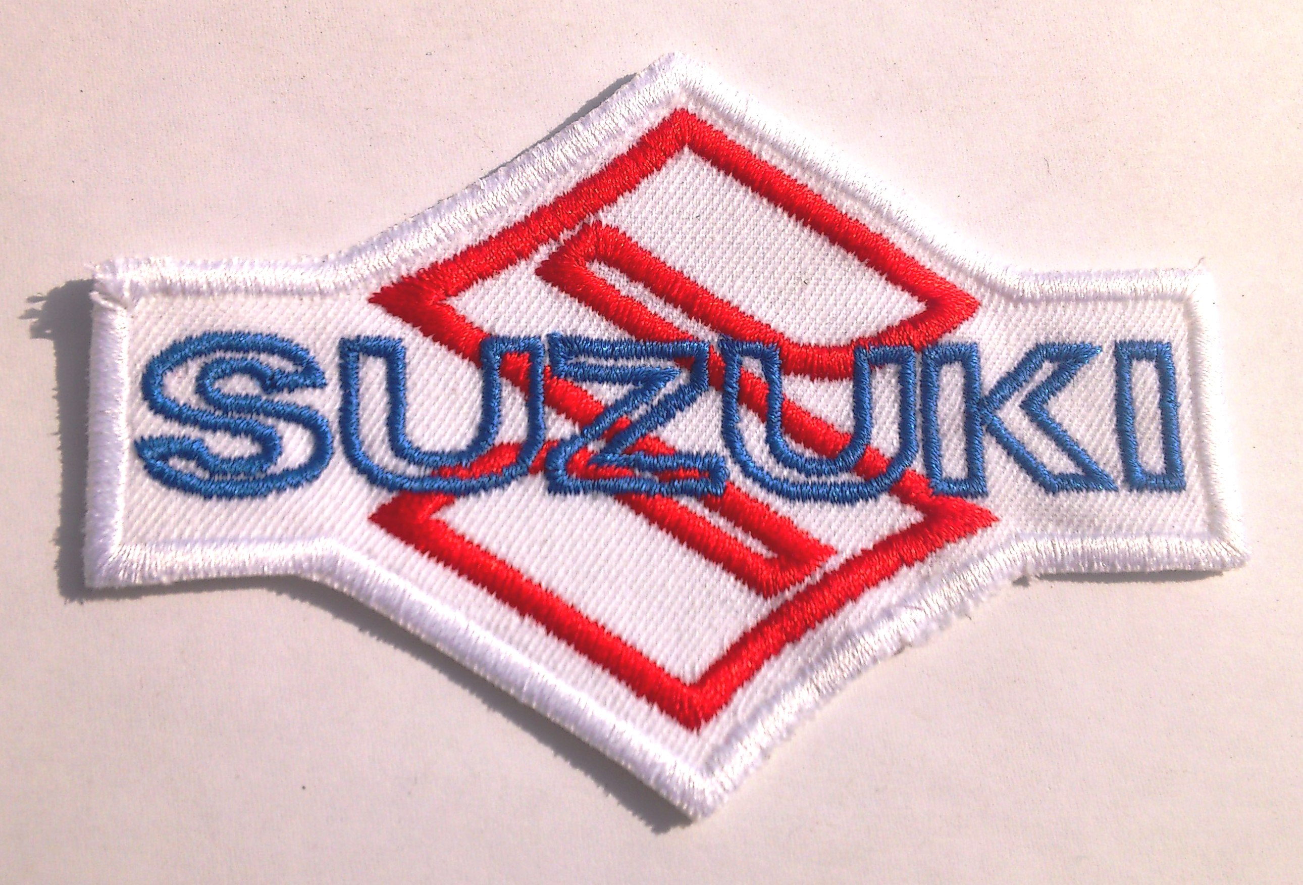 Suzuki Logo wr Racing Team Hayabusa GSX Bandit Biker Superbike Aufnäher