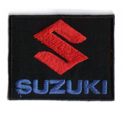 SUZUKI RACING Team Superbike MotoGP motocross endurance Bandit Aufnäher