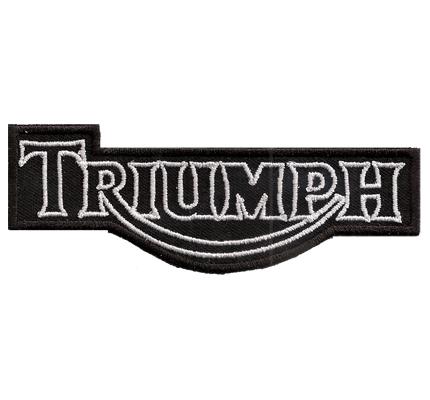 Triumph Motorrad Motorcycle  Speedtriple Superbike Spitfire Aufnäher
