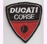 Ducati Corse MotoGP Racing Italy Rennsport Superbike Moto GP Aufnäher
