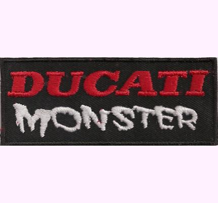Ducati MONSTER MotoGP Racing Enduro Corse Naked Bike DUC 900 Aufnäher
