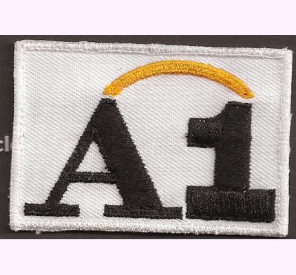 ÖSV A1 Netz AUSTRIA Skiteam Schiteam Logo Mützen Haube Patch Aufnäher - weiss