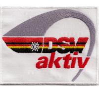 DSV AKTIV - ÖSV SKITEAM SCHITEAM Verband Germany Deutschland Aufnäher Abzeichen