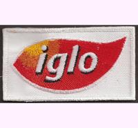 ÖSV IGLO AUSTRIA Skiteam Iglo Schiteam für Mütze Haube Patch Aufnäher - eckig