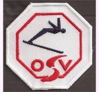 ÖSV LOGO Austria Skiteam Schi team Logo Mützen Hauben Patch Aufnäher
