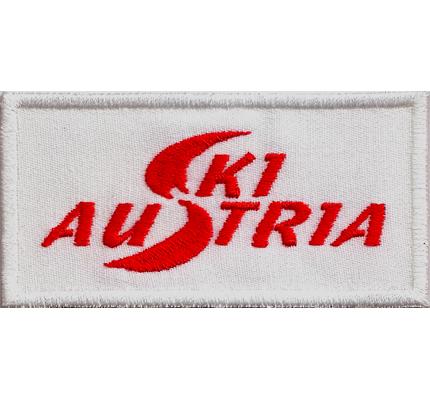 ÖSV SKI AUSTRIA Skiteam Mützen Hauben Jacke Logo Schal Patch Aufnäher Abzeichen