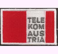 ÖSV TELEKOM AUSTRIA Skiteam Schiteam für Skijacke DSV Haube Aufnäher