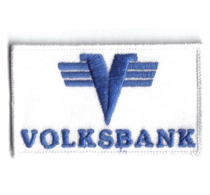 ÖSV VOLKSBANK Austria Skiteam Schiteam für Handschuh Haube Aufnäher