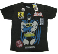 ?BATMAN 100 Page Dark Knight Warner Bros Vintage Comic T-Shirt limited Edition?