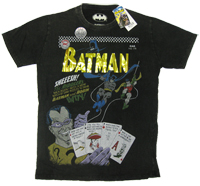 The Riddler Batman Robin Warner Bros Vintage Comic T-Shirt limited Edition