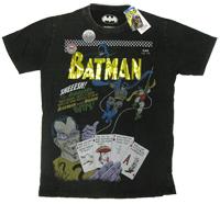 The Riddler Batman Robin Warner Bros Vintage Comic T-Shirt limited Edition