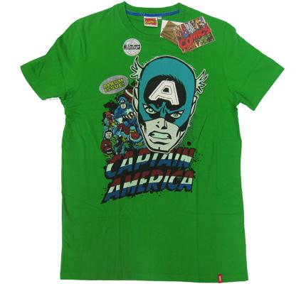 ?Captain America ?CA Vintage Marvel Comics T-Shirt Album limited Edition ?