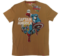 ?Captain America ?CA Vintage Marvel Comics T-Shirt Kostüm limited Edition ?