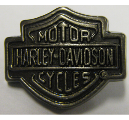 harley davidson button motorcycles hd patch biker metall
