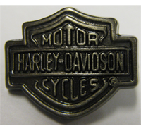 Harley Davidson Button Motorcycles HD Patch Biker Metall Plakette Anstecker Pin