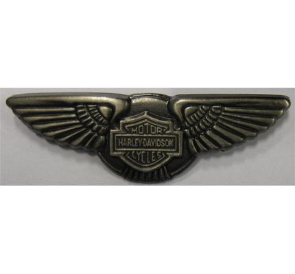 Hells Biker Harley Davidson Angels Wing Biker Metall Plakette ...