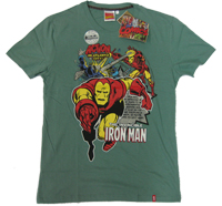 ?The incredible IRONMAN?Atlantic City Vintage Marvel Comics T-Shirt limited?