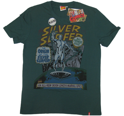 ?Silver Surfer? Fantastic Four Vintage Marvel Comics T-Shirt limited Edition ?