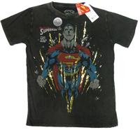 Superman 224Gold Warner Bros Vintage Comic Retro T-Shirt tshirt limited Edition