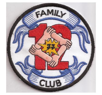 12 Family Club 1977 Zusammenschluss MC Bayern alter Biker Aufnäher
