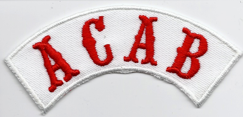 ACAB Hells A.C.A.B Ultras All cops are bastards Dark Angels Aufnäher Patch