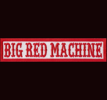 Hells Big Red Machine White Angels Nomads Red MC Aufnäher Patch