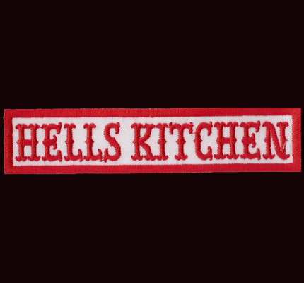 5 Points, The Hells Kitchen Red/White Angels Aufnäher Patch