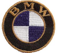 WW2 1923 ALTES BMW LOGO Motorrad BMW R32 R34 Aufnäher Abzeichen