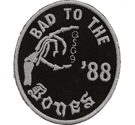 MC Bad to the Bones 88 MC 88s GSG9 Bikerjacke Kutte Aufnäher Patch