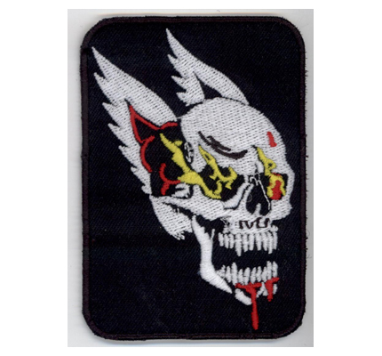 MC Hells Biker Freeway Ghostrider Winghead Skull Angels Aufnäher Patch