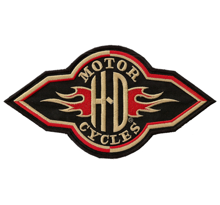 Harley Davidson Motorcycles HD Willies Vintage RETRO Fire Aufnäher Patch 10cm